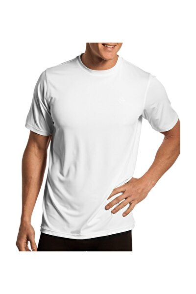 Bisiklet Yaka Likralı T-shirt