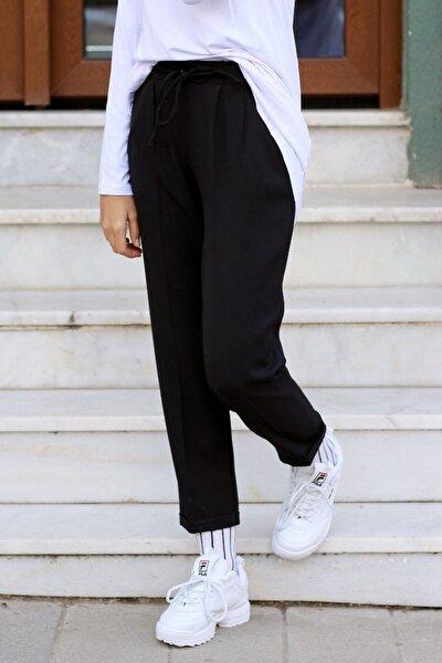 Havuç Pantolon Siyah