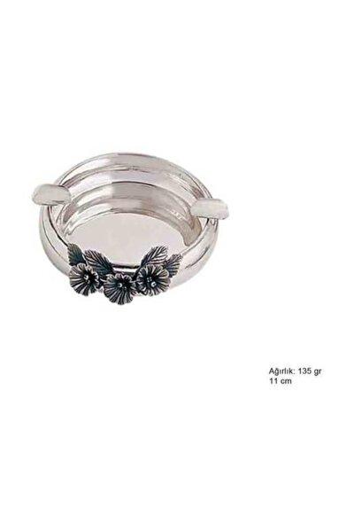 925 Ayar Gümüş Orkide Desenli Küllük