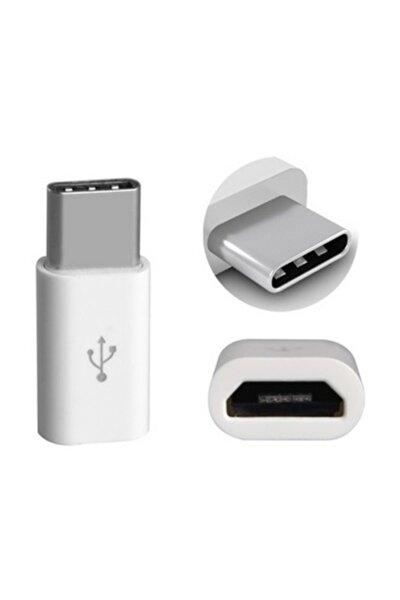 Type C Usb 3.1 To Micro Usb Şarj Çevirici Dönüştürücü Adaptör
