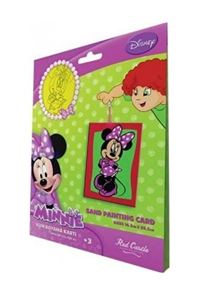 Minnie 4 Kum Boyama Kartları
