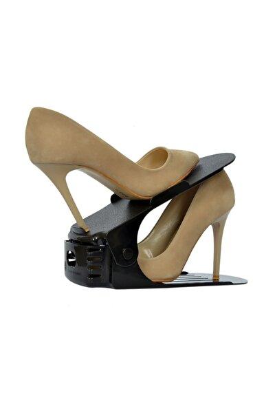 12 Adet Kademeli Ayakkabı Rampası Yükseklik Ayarlı Ayakkabı Düzenleyici