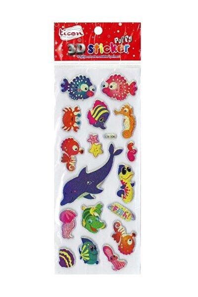 3d Sticker Puffy 256032 (kabartmalı) 3d-45