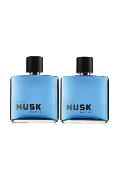 Musk Marine Edt 75 Ml Erkek Parfümü 2 Adet