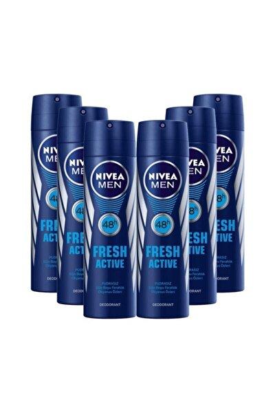 Men Fresh Active Deodorant 150 ml 6 Adet