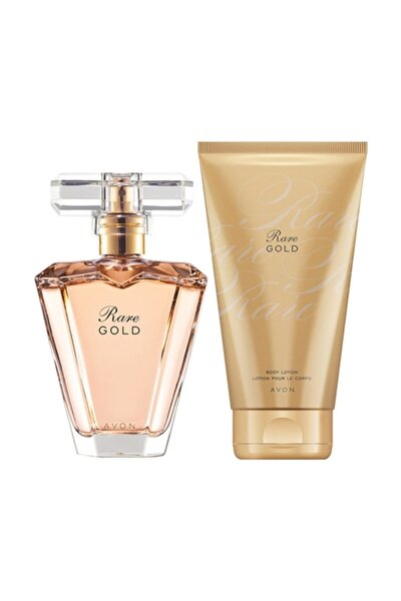 Rare Gold Kadın Parfüm Vücut Losyonu Set