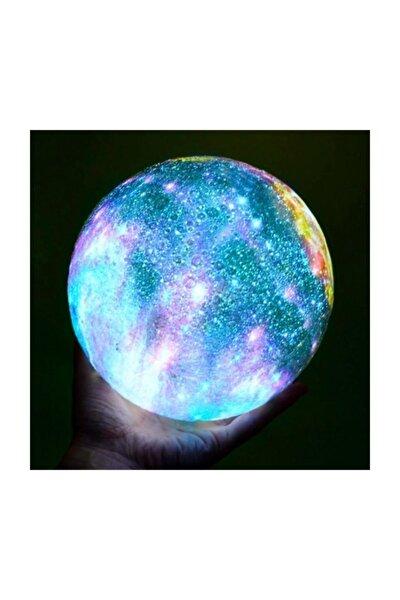 Renk Değiştiren Galaksi Işıklı Dolunay Moonlight Lamba