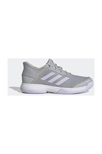 Eh1107 Adizero Club Çocuk Gri Tenis Ayakkabısı