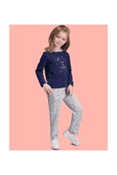 Dreaming Lacivert Kız Çocuk Pijama Takımı