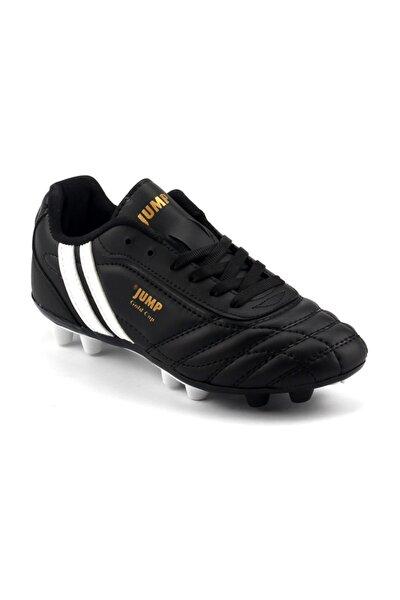 134k-a Siyah Halısaha Krampon Erkek Çocuk Futbol Ayakkabı