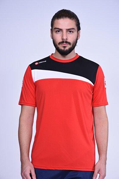 T-shirt Erkek Truro Tee Antr Pl R7115 Kırmızı-siyah