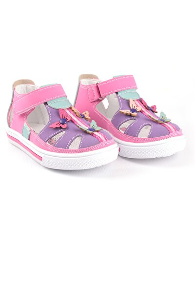 Kız Çocuk Kelebekli Kapalı Ayakkabı