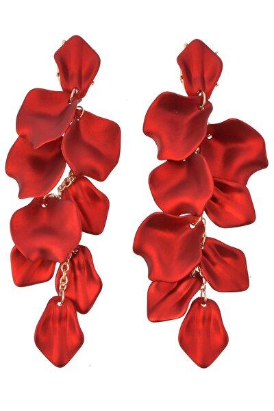 Kırmızı Yapraklar Küpe