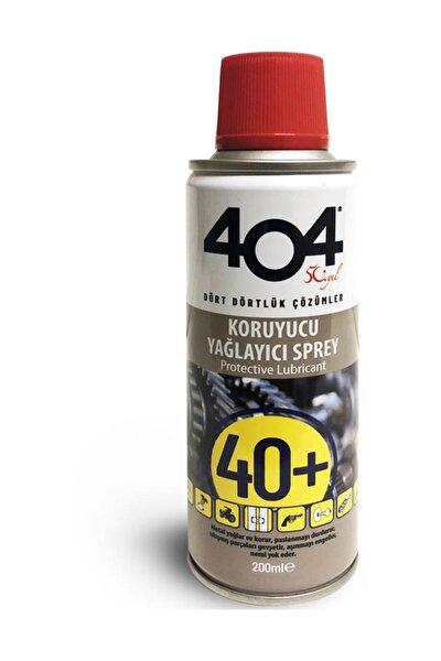 404 Pas Sökücü 40+ Koruyucu Yağlayıcı Sprey 200 Ml