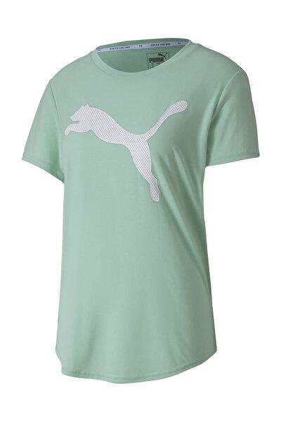 EVOSTRIPE TEE Mavi Kadın T-Shirt 100547672