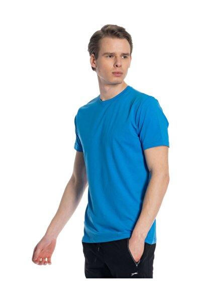 Erkek Lacivert  Kısa Kol Tişört