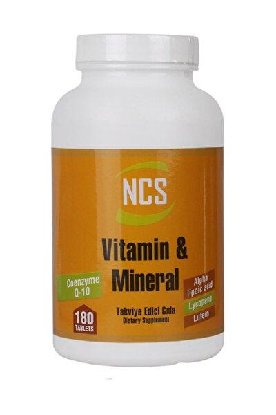 Vitamin Mineral Multivitamin Coenzyme Alpha Lipoic 180 Tablet