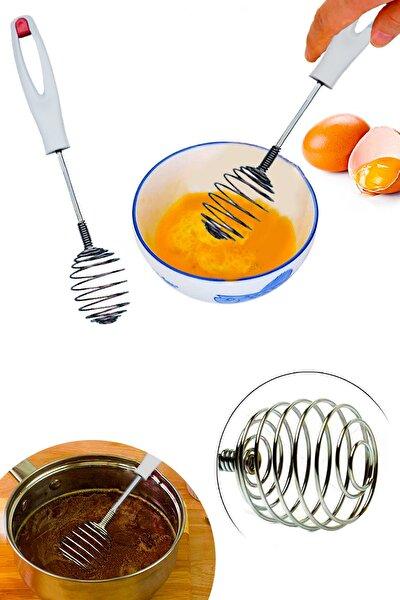 Spiral Yaylı Yumurta Karıştırıcı
