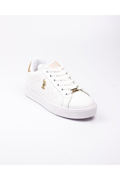 U. S. Polo Exxy Beyaz Kadın Sneaker Beyaz-38