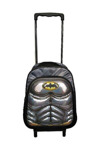 Anaokulu Çekçekli Sırt Çantası Batman Çekçeği Ayrılabilen 2 Gözlü