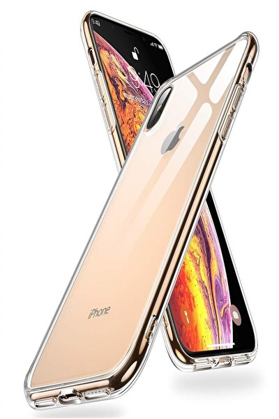 Iphone X/xs Slim Silikon Kılıf Şeffaf