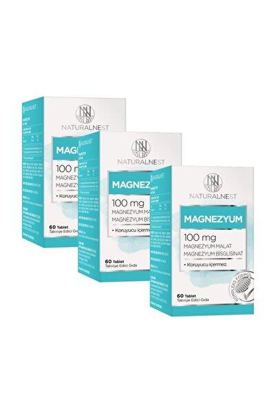 Magnezyum 60 Tablet 3 Kutu