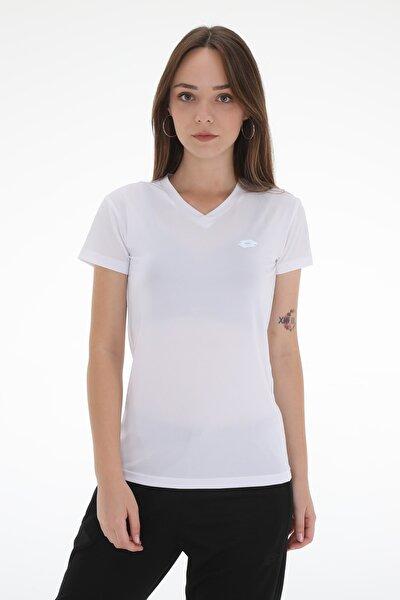 T-shirt Kadın / Kız Buff Tee Pl Vn W R6878 Beyaz/gümüş