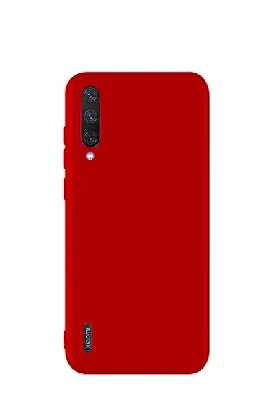Xiaomi Mi 9 Lite Premium Matte Silikon Kılıf - Kırmızı