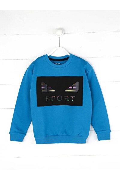Mavi Mevsimlik Erkek Çocuk Sweatshirt