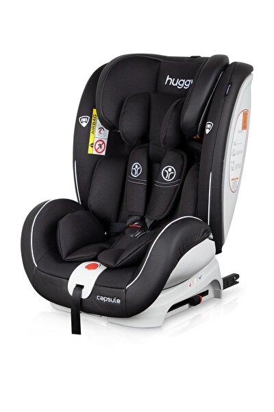 Huggy Capsule Rotate360° Dönebilen 0-36 İsofix Oto Koltuğu Siyah