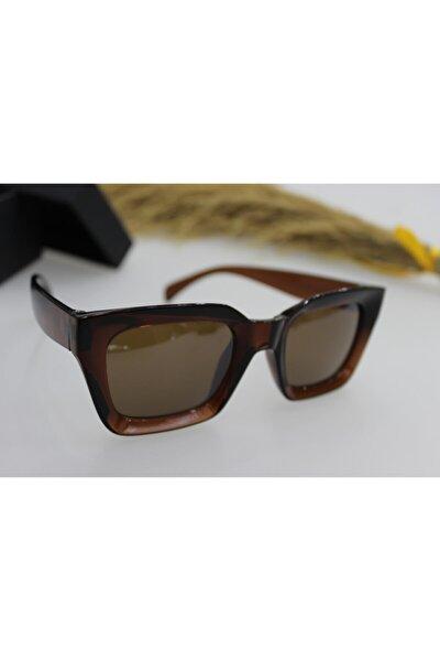New Mia Kare Kadın Kahverengigüneş Gözlüğü