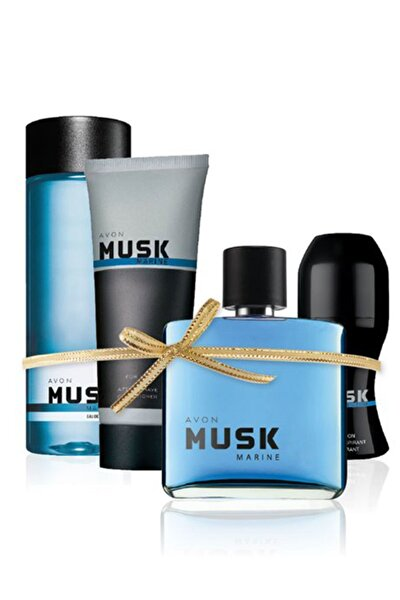 Musk Marine Erkek Parfüm Seti