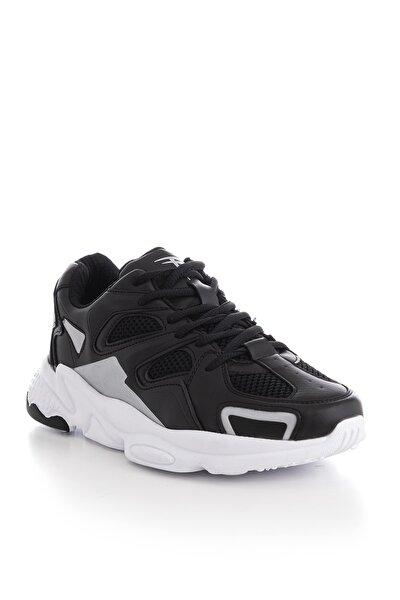 Unısex Spor Ayakkabı Siyah Beyaz Tb252 -> 38 -> Siyah Beyaz