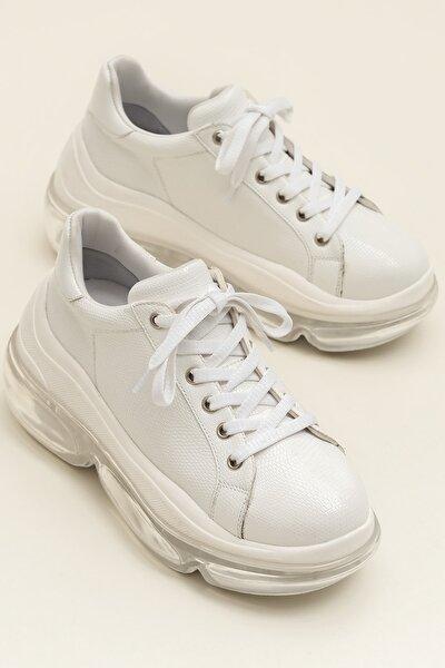 HEGE Beyaz Kadın Ayakkabı