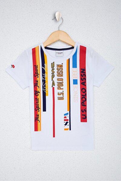 Beyaz Erkek Çocuk T-Shirt