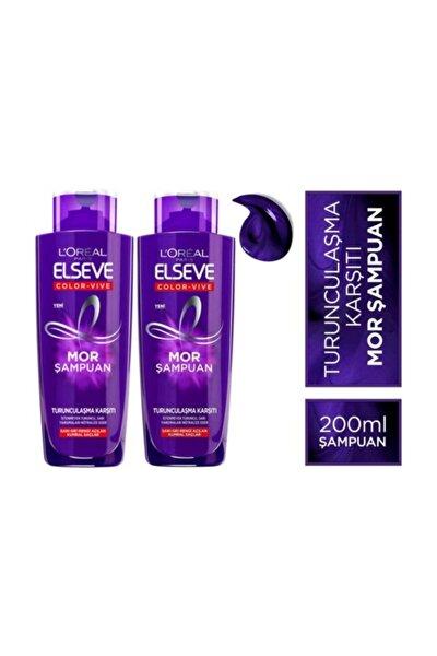 L'oréal Paris  Turunculaşma Karşıtı Mor Şampuan 200ml X 2 Adet