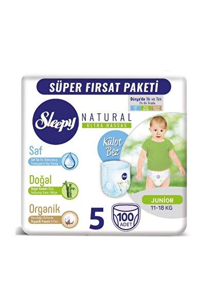 Natural Külot Bez 5 Numara Junior 100 Adet