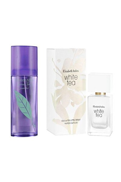 Green Tea Lavender Edc 100 ml+White Tea Edt 30 ml Kadın Parfüm+White Tea Edt 30 ml Kadın Parfüm