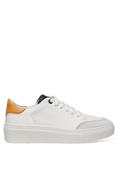 ZEMAR 1FX Beyaz Kadın Havuz Taban Sneaker 101031077