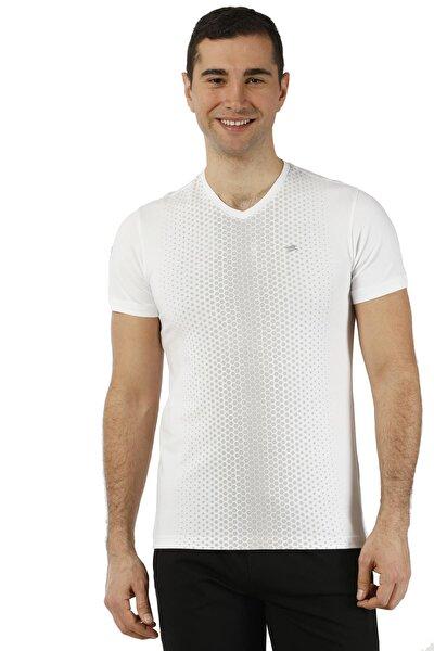 Erkek T-Shirt Micro Polyester V Yaka  - 2802