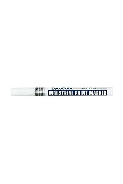 DecoColor Industrial Paint Marker Çok Amaçlı Boyama Markörü BEYAZ