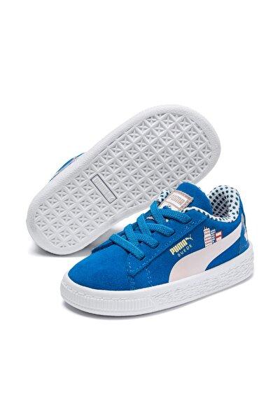 SUEDE SESAME 50 INF İndigo Unisex Çocuk Sneaker Ayakkabı 100516907