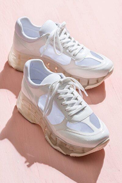 PENDRA Beyaz Kadın Sneaker