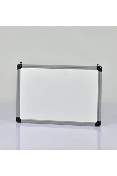 Yazı Tahtası Beyaz - Duvar Askı Aparatlı -Pvc Çerçeve 23X32 Cm