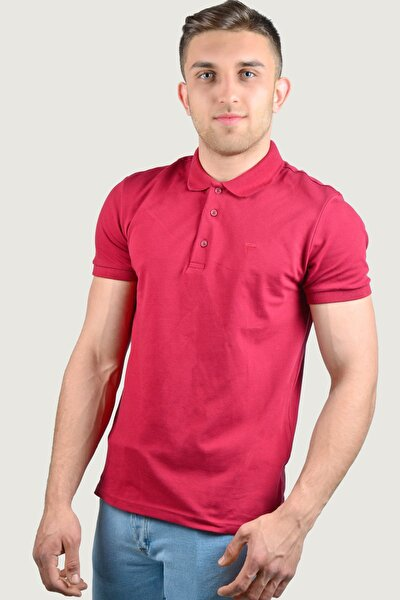 Erkek Polo Yaka T-Shirt 9Y-3400518-014 Bordo
