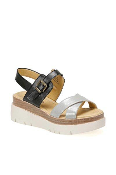 19s-393 Siyah Kadın Sandalet 100390811