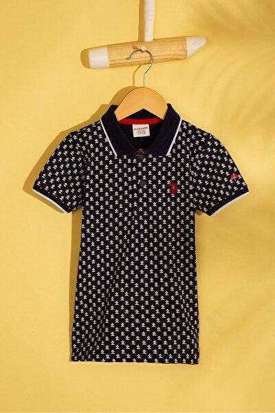 Lacivert Erkek Çocuk T-Shirt