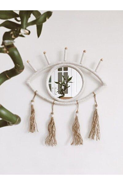 Bohem Göz Ayna Duvar Dekoru
