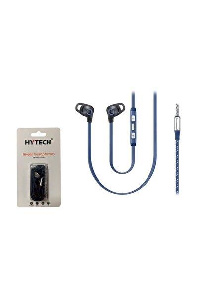 HY-XK25 Mobil Telefon Uyumlu Kulak içi Gri Mikrofonlu Kulaklık
