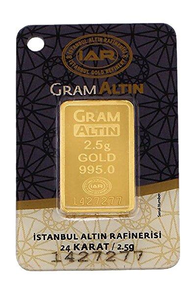 2,5 Gram Külçe Gram Altın IAR 24 Ayar K000001